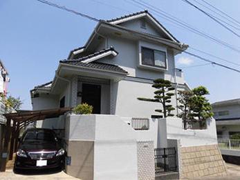 遮熱塗料と防水性の高い塗料で家を守ります。