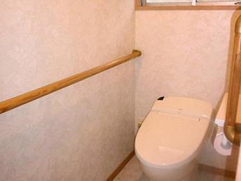 可愛いお手洗い器を造設。S様邸の雰囲気に合ったトイレになりました!