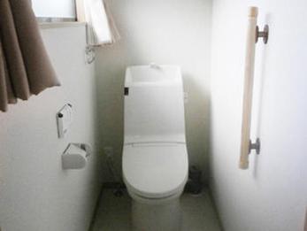 寝室の近くのトイレと洗面台を設置することで同線を楽にしました。