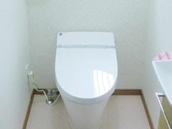 トイレが良い空間になりとてもよかったです。