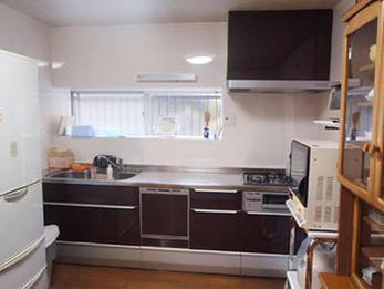 調理スペースやシンクが広くなり、毎日の料理が楽しくなりました。