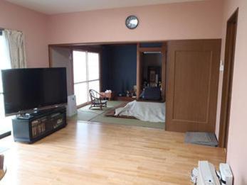 広々としたお部屋になり、満足のいくリフォームになりました。