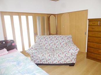 過ごしやすい空間で、明るいお部屋になりました。