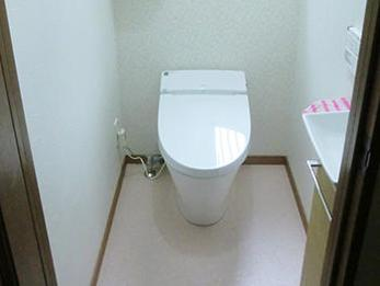 トイレが居心地の良い空間になり、とてもよかったです。