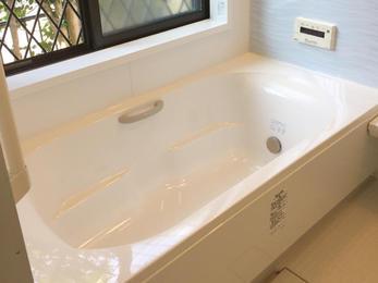 きれいなお風呂になってお手入れもしやすいので もっと早くしたかったというお言葉を頂き本当にうれしかったです。