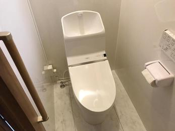 和式トイレから洋式トイレへ!        ‿