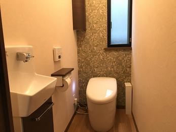 快適なトイレ空間を!           ‿