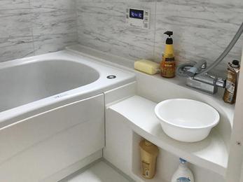 狭かった浴槽を足を伸ばせる浴槽にリフォーム!