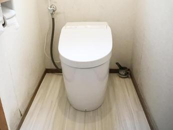 掃除が楽なトイレです!            ‿