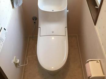 お掃除らくらくトイレ!         ‿