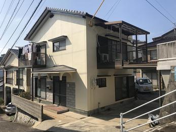 築40年メンテナンス無しの家が外壁塗装&屋根葺き替えで美しく生まれ変わりました!!