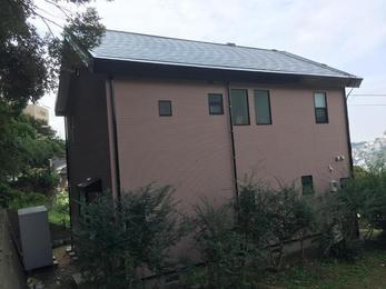 外壁も屋根も塗装でキレイ!