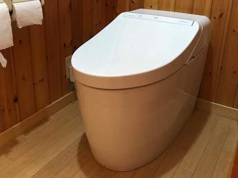 最新トイレに取替!