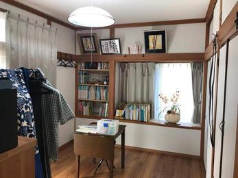 和室がご主人の書斎へ大変身!