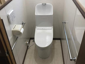 和式トイレから洋式トイレにリフォーム!