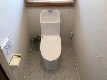 リフォームでトイレを明るく!