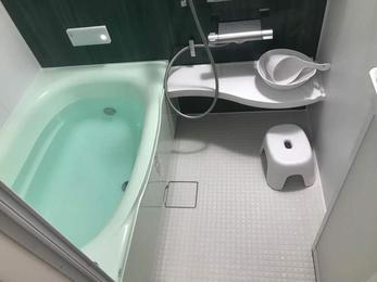 清潔感のあるお手入れしやすいお風呂にリフォーム!