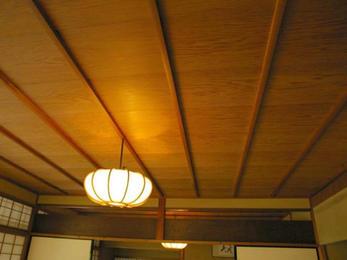 イナゴ天井造作を行いました!