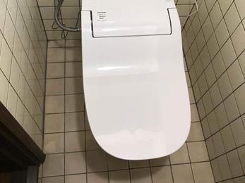 問い合わせがあった次の日にトイレ工事完了!