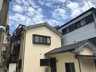 長崎市N様邸 外壁塗装リフォーム事例