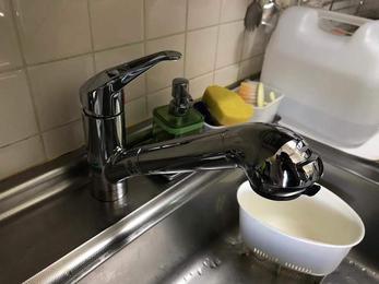 いつでもおいしい水が飲めるようになりました。