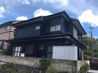 長崎市S様邸 外壁塗装リフォーム事例