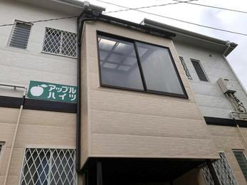 築20年のアパートがまるで新築の様な外観に☆
