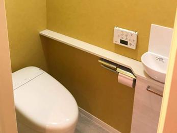 最新のトイレで快適生活!