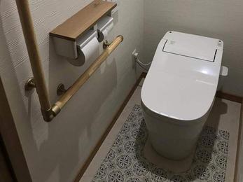 和式から洋式のトイレにリフォーム☆使いやすさ向上!!