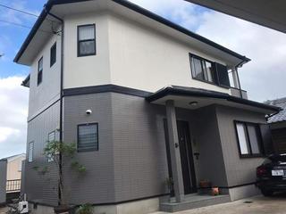 長崎市T様邸 外壁塗装リフォーム事例