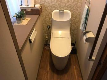 オシャレなトイレになりました!!