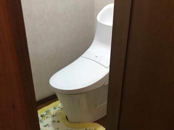 水漏れの無い安心のトイレに。