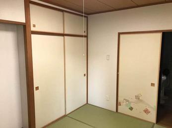 その一部屋だけでまるで新築のようになりました!