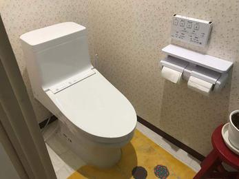 2階の押入れがトイレに大変身!
