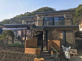 長崎市H様邸 外壁・屋根塗装リフォーム事例