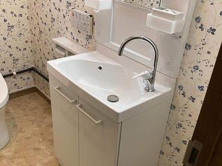 長崎市J様邸 トイレ手洗いリフォーム事例
