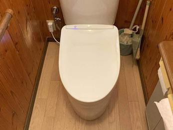 節水のできる お手入れのしやすい多機能トイレ
